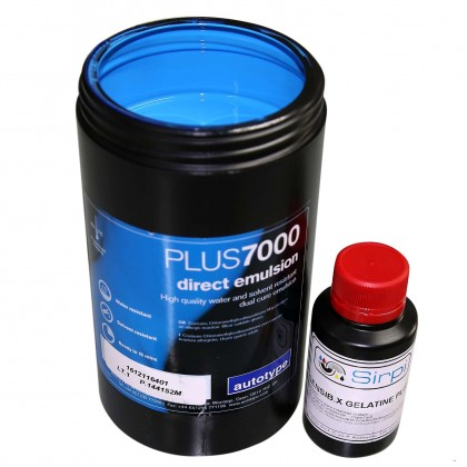 Emulsione fotosensibile Plus7000