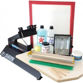 Screen Printing Press + Kit