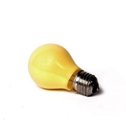 Ampoule E27 couleur jaune