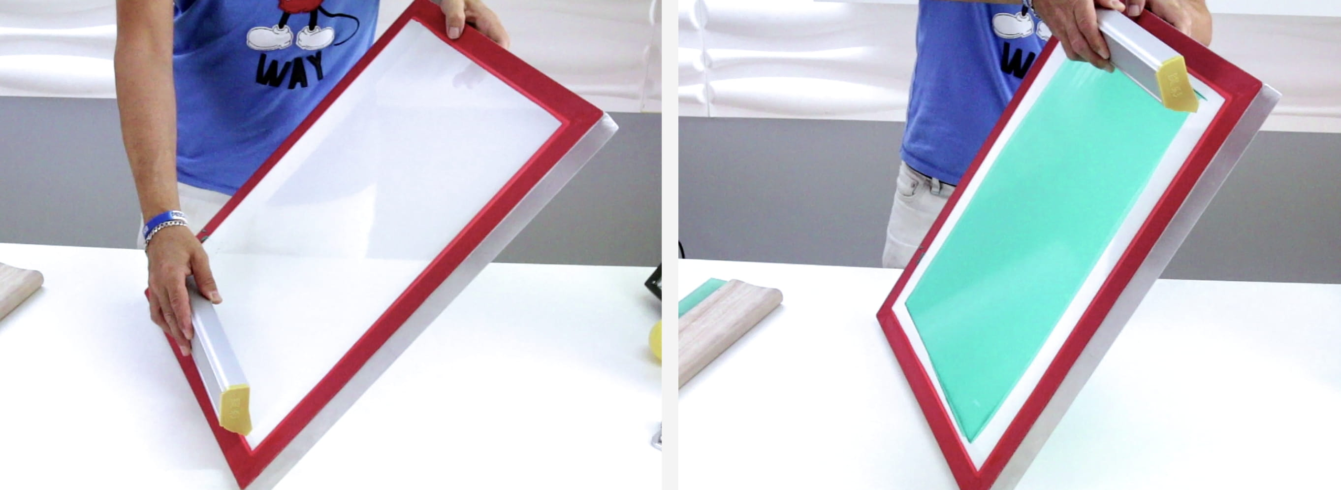 How to Coat a Screen with Emulsion for Screen Printing
