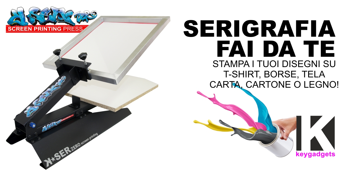 Favoloso Macchina Serigrafica T-shirt Pressa Magliette Serigrafia tessuto  MR66