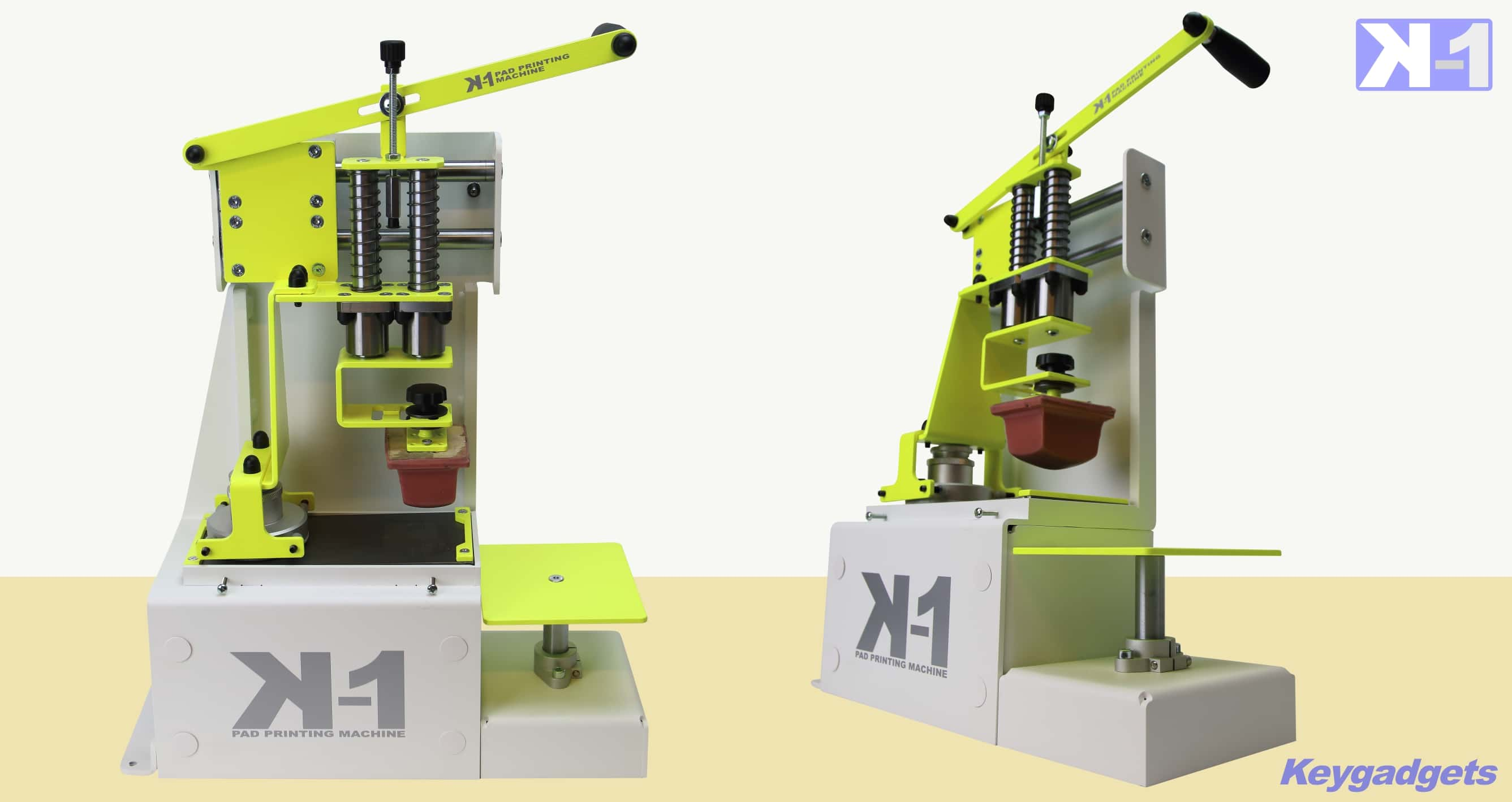 Machine de tampographie avec Insoleuse clichè